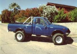 1978 toyota truck photo image gallery touchup paint toyota truck in medium blue 842