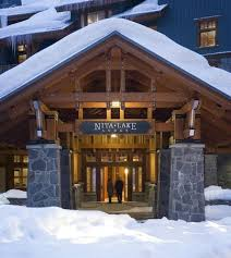 winter entrance picture of nita lake lodge whistler tripadvisor