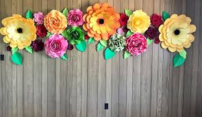 flower backdrop paper flower backdrop paper flowers wall paper flower