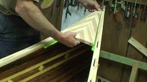 Wooden Canoe Shelf Plans by Building A Cedar Strip Canoe Youtube