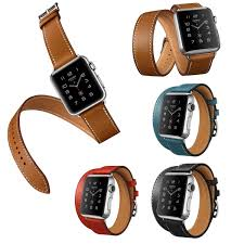 double strap bracelet images Luxury extra long genuine leather band double tour bracelet jpg