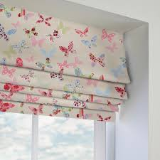 Roman Blinds Made To Measure Pink Patterned Roman Blinds Made To Measure From Direct Blinds