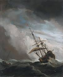 ship in a file de windstoot a ship in need in a raging willem