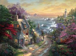 lighthouse the limited edition the kinkade