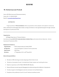 Underwriter Job Description For Resume by Jaywant Resume Tx Tcl For Nsn 1