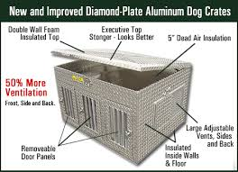 Truck Bed Dog Kennel Diamond Plate Dog Crates Www Ifish Net