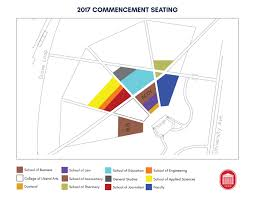 Ole Miss Campus Map Commencement 2017 Commencement Seating
