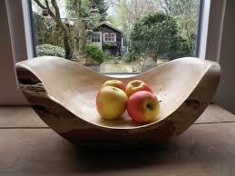 Fruit Bowls by Woodturning Log Fruit Bowl Youtube