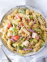 blt pasta salad my organized chaos