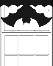halloween bat window shades martha stewart