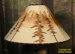 construct rustic replacement lamp shades and rustic western lamp