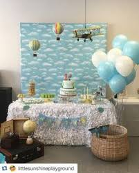 hot air balloon decorations 7 sensational adventure and travel themed party ideas balloon