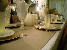 diy kraft paper thanksgiving tables kitchn