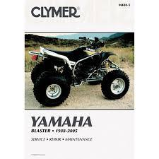 clymer atv manual yamaha blaster chaparral motorsports