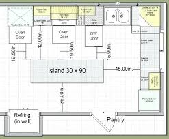 kitchen design plans with island kitchen blueprints marvellous design restaurant kitchen layout