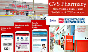 cvs pharmacy services available inside target and