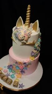 unicorn baby shower cake cakecentral com