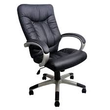 fauteuil a de bureau president fauteuil bureau simili noir achat vente chaise de
