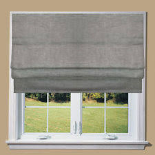 Thermal Lined Roman Blinds Linen Roman Blind Ebay