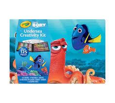 large undersea creativity kit finding dory crayola