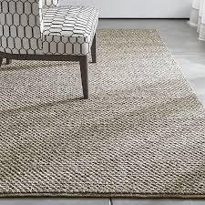 Crate And Barrel Office Chair Yvonne Grey Wool Blend Rug Crate And Barrel