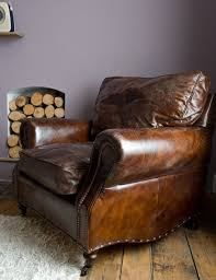 brown leather chair restoration hardware