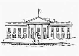 white house coloring page itgod me