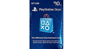 playstation gift card 10 playstation network card 10