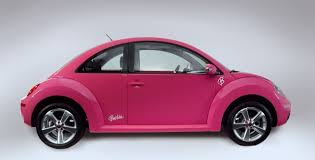 used pink volkswagen beetle volkswagen beetle barbie is decked up in pink the vw beetle