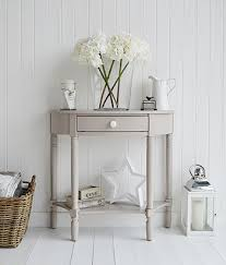 small half moon console table with drawer the oxford grey half moon console table with drawer and shelf