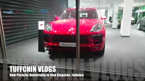 porsche dealership jamaica vlog 8 first porsche luxury dealership youtube