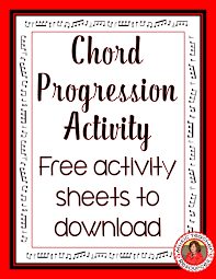 thanksgiving music worksheets chord progressions musicteacherresources