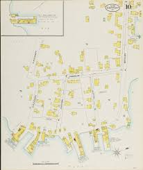 University Of Maine Map Eastport And Lubec 1898
