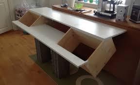 ikea studio desk articles with wrap around computer desk plans tag trendy wrap