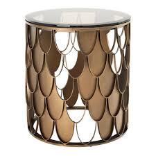glass cylinder table l eichholtz l indiscret side table glass table top glass table and