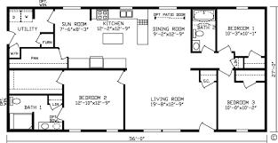 home durham 92702k kingsley modular floor plan fairmont homes
