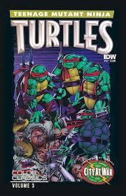 teenage mutant ninja turtles color classics u2013 idw publishing