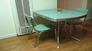 Retro Kitchen Table Vintage Kitchen Tables Vintage Chrome - Retro formica kitchen table