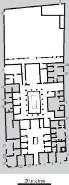 roman insula floor plan house and home pompeii the life of a roman town