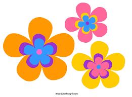 fiori disegni fiori colorati da stare e ritagliare tuttodisegni