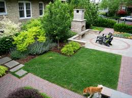 our office display yard contemporary landscape chicago by