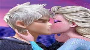 elsa besa a jack frost libre soy frozen youtube