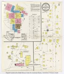 Victoria Texas Map Sanborn Maps Of Texas Perry Castañeda Map Collection Ut