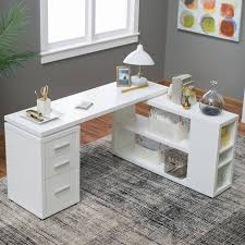 White L Shape Desk White L Shaped Desk Modern Home Design
