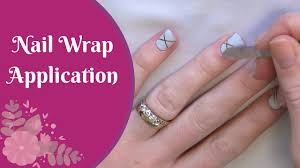 how to apply jamberry nail wraps nz youtube