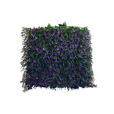 Home Depot Decorative Wall Panels Greensmart Decor 20 In X 20 In Artificial Lavender Wall Panels