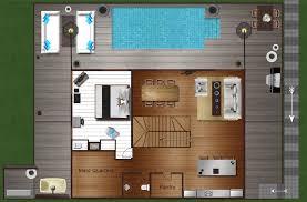 villa belle koh samui layout villa belle