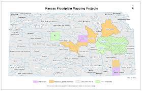Map Of Manhattan Kansas Cow Creek Watershed