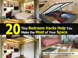how to make the most of a studio apartment 20 tiny bedroom hacks help you make the most of your space