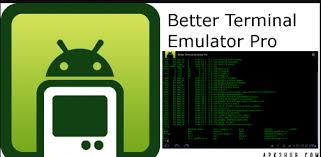 terminal emulator apk free better terminal emulator pro mod apk android